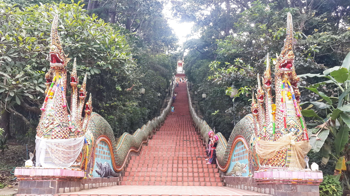 Wat Phra That Doi Suthep the holiest shrine in northern ...
