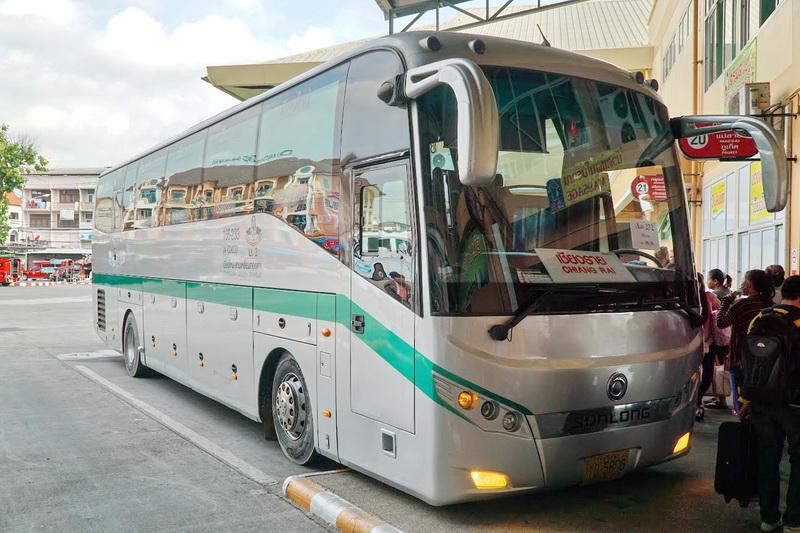chiang rai travel, chiang rai travel information, chiang rai bus station