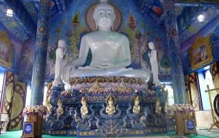 wat rong suea ten, rong suea ten temple, blue temple