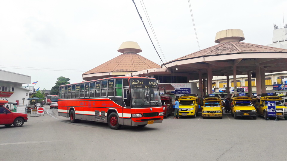 Transport in Chiang Mai, Chang Phuak Bus Station