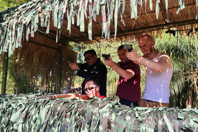 chiang mai activities, thing to do in chiang mai, chiang mai shooting, chiang mai shooting range