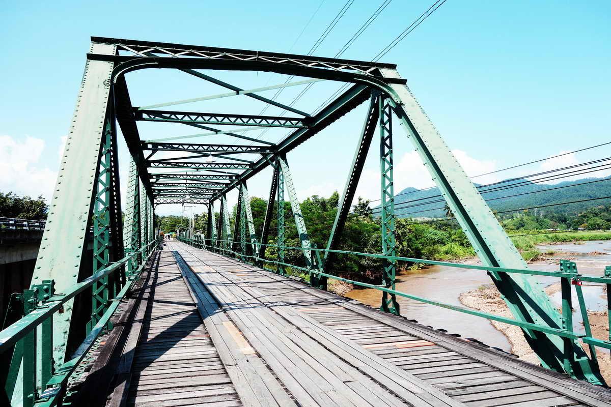 pai world war bridge, pai memorial bridge, tha pai world war 2 memorial bridge