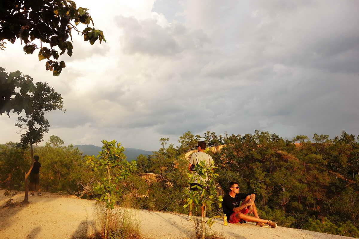 pai canyon, attraction in pai, attraction in mae hong son, sights in mae hong son