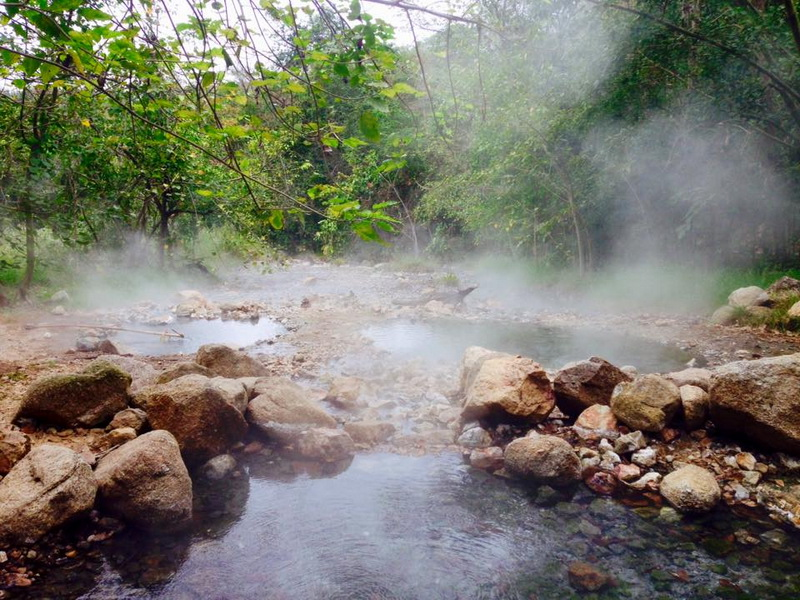 tha pai hot spring, pong nam ron thapai, attractions in mae hong son, attractions in pai