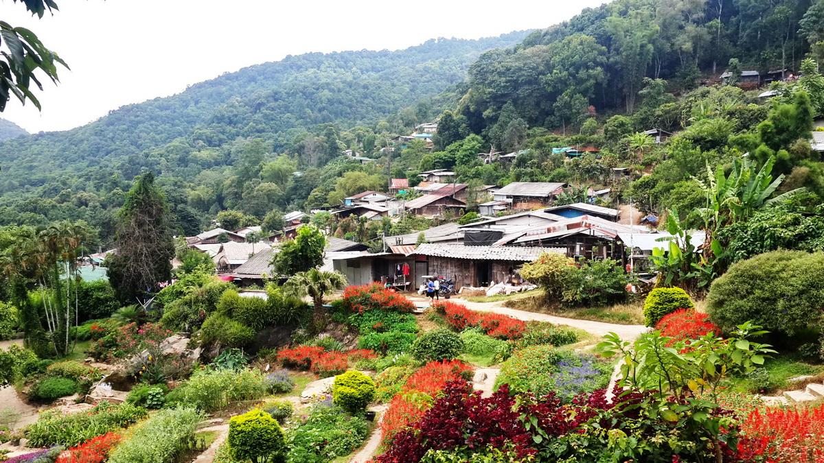 hmong tribal village, doi pui hmong village, hmong village, doi pui hmong tribal village