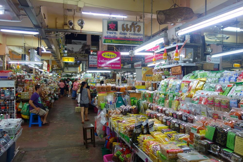 kad luang, warorot market, chiang mai market