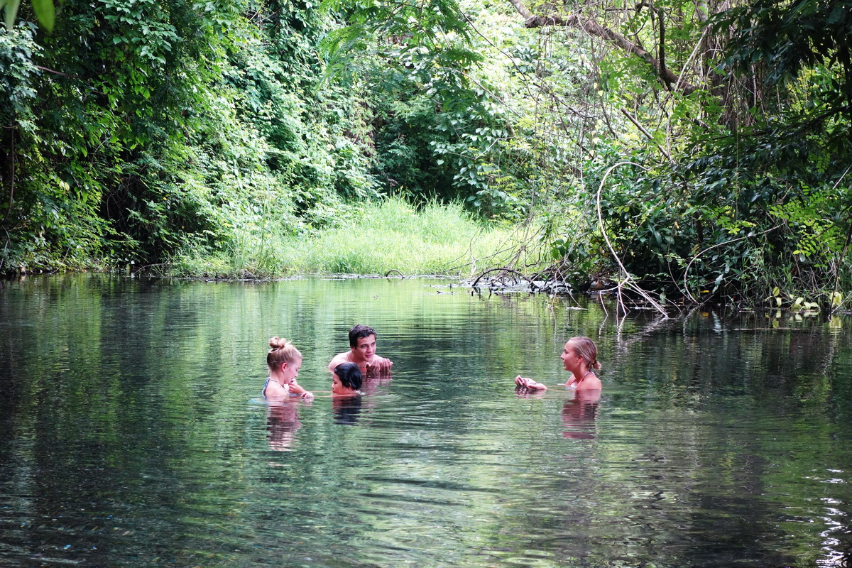 attractions in mae hong son, sai ngam hot springs, secret hot spring, hot springs in pai, sai ngam hot spring