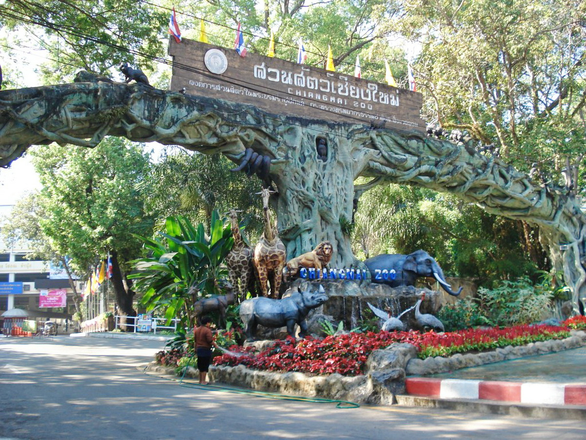 Chiang Mai Zoo is suitable for child and family, Quite a fun for the kids