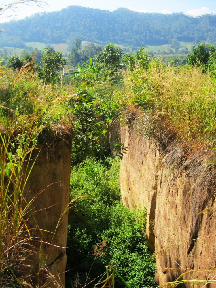 land split, land split in pai, land split pai, pai attractions