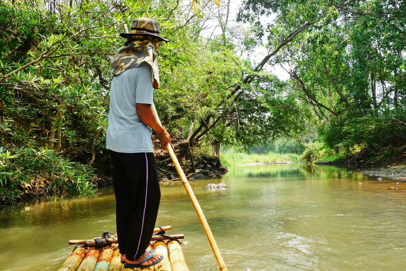 rafting in mae wang, bamboo rafting in mae wang, chiang mai adventures, chiang mai activities