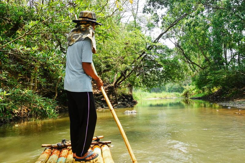 rafting in mae wang, bamboo rafting in mae wang, chiang mai adventures, chiang mai activities, chiang mai attractions, attractions in chiang mai