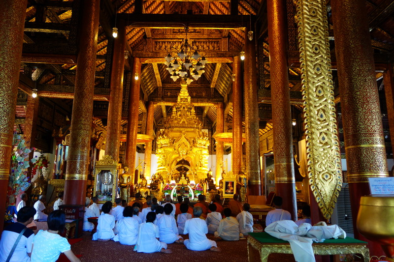 wat phra that sri jom thong, phra that sri jom thong temple, important temples in chiang mai, attraction temples in chiang mai