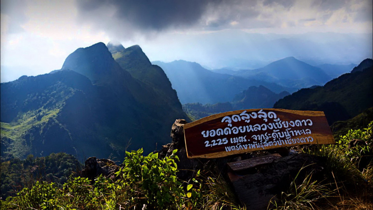 Hiking at Doi Luang Chiang Dao 'The sky-high nature-seeing trip'