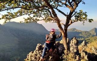 hiking at doi luang chiang dao, trekking at doi luang chiang dao, trekking in chiang mai, hiking in chiang mai