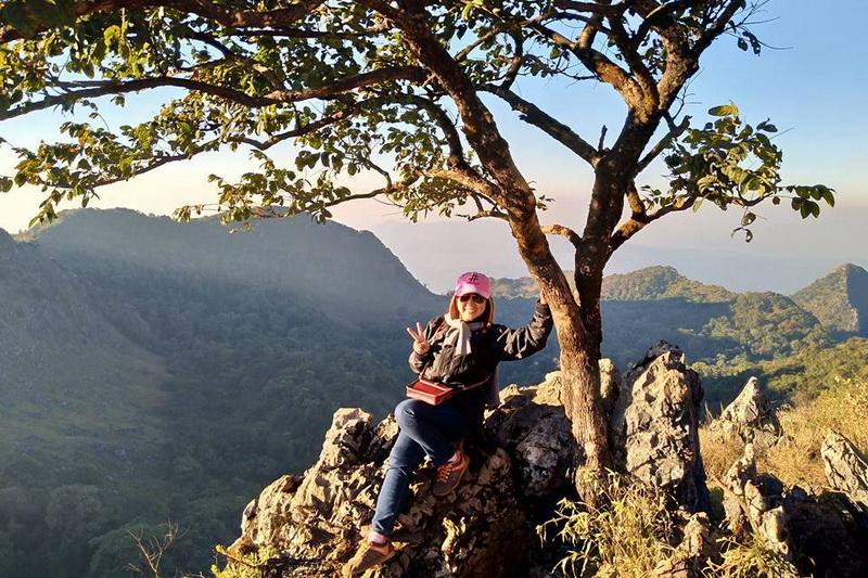 Hiking at Doi Luang Chiang Dao