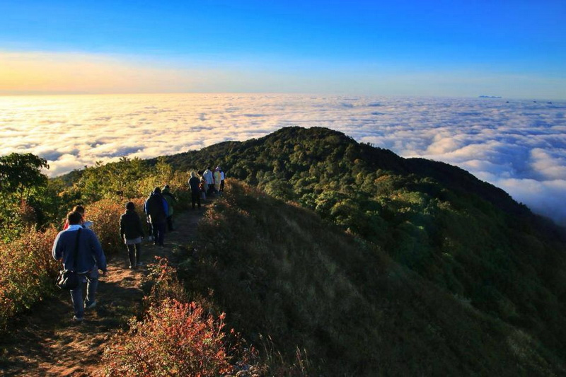 attractions in chiang mai, chiang mai attractions, doi pha hom pok national park, doi pha hom pok, doi phahom pok national park, doi phahom pok