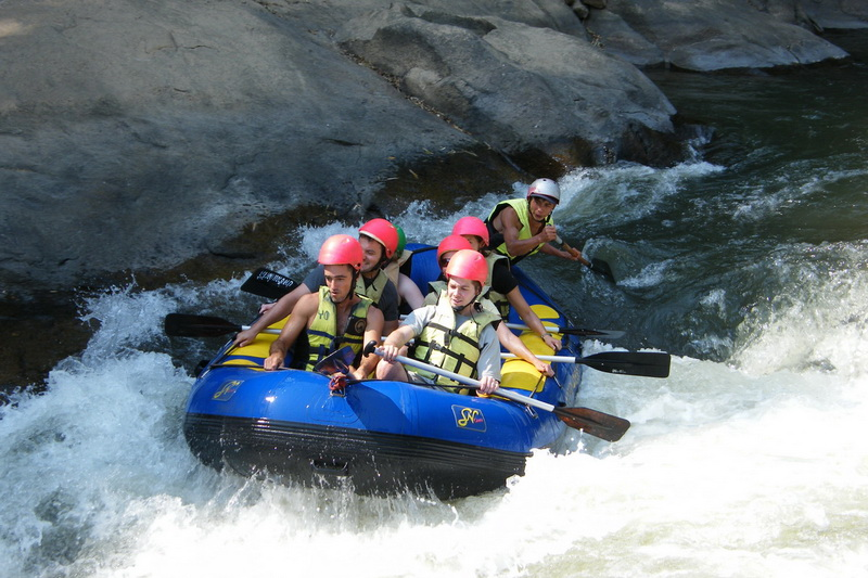 chiang mai activities, thing to do in chiang mai, chiang mai rafting, chiang mai white water rafting