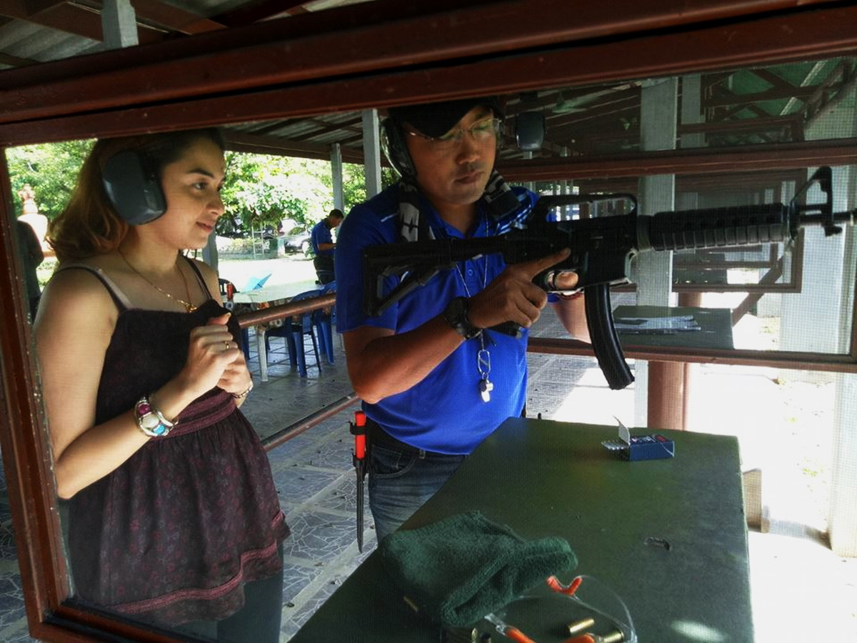 shooting range, chiang mai shooting range, chiang mai shooting