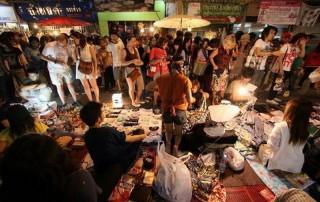 chiang rai khon muan street, chiang rai walking street, chiang rai night markets