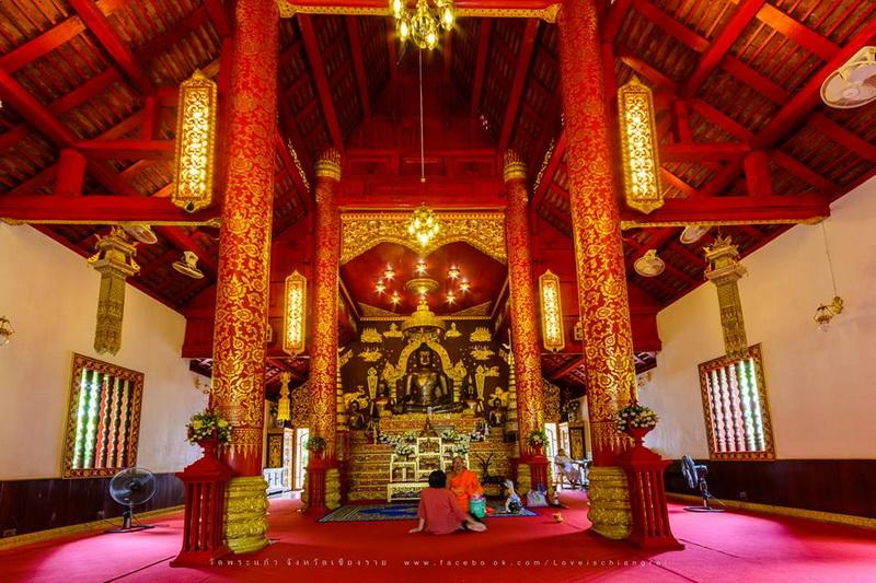 wat phra kaew chiang rai, wat phra kaew in chiang rai, phra kaew temple chiang rai, phra kaew temple in chiang rai
