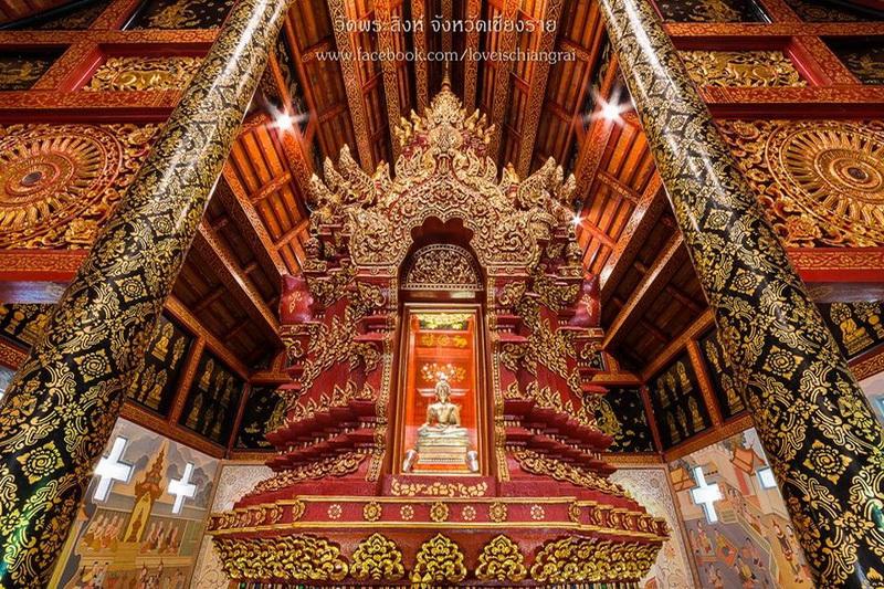 wat phra singh chiang rai, wat phra singh in chiang rai, phra singh temple chiang rai, phra singh temple in chiang rai