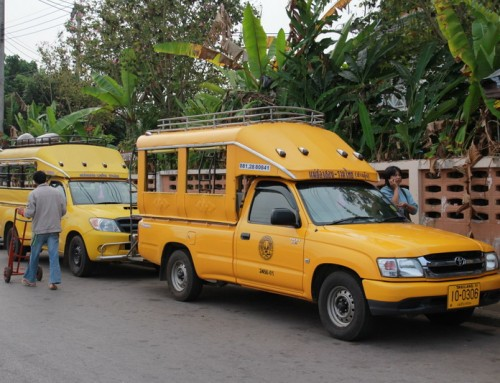 Transport in Mae Hong Son