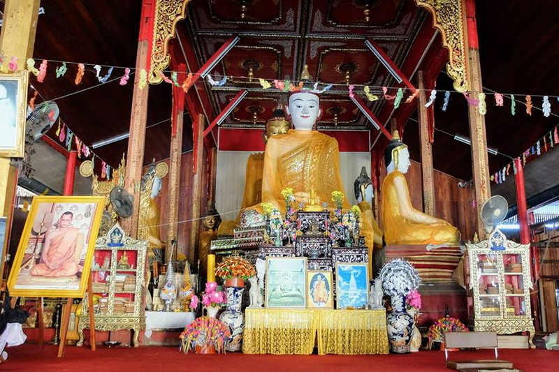 wat hua wiang, wat hua wiang in mae hong son, hua wiang temple, hua wiang temple in mae hong son