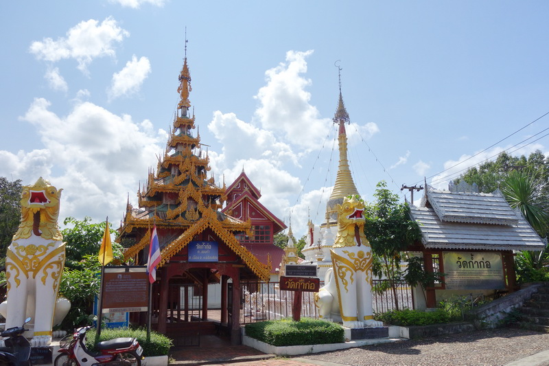 wat kam ko, kam ko temple, wat kam ko in mae hong son, kam ko temple in mae hong son