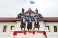 three kings monument, chiang mai city arts and cultural centre, chiang mai museum, chiang mai cultural centre