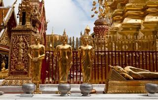 wat doi suthep, wat phta that doi suthep, doi su thep temple