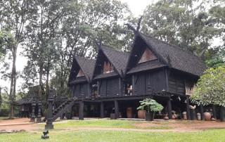 black house museum, black house, baan dam, baan dam museum
