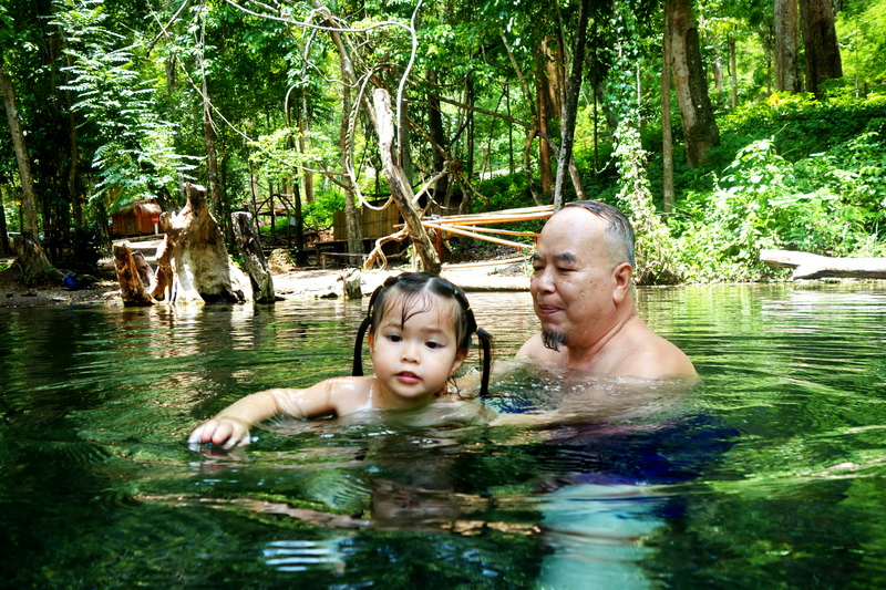 sai ngam hot springs, secret hot spring, hot springs in pai, sai ngam hot spring