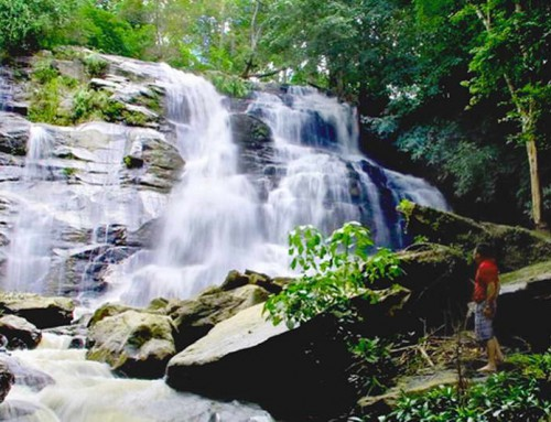 Tat Mhok Waterfall